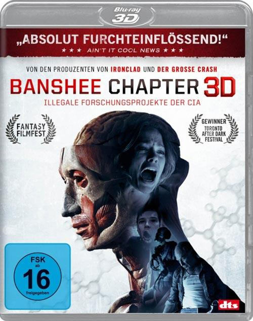 DVD Cover: Banshee Chapter - 3D
