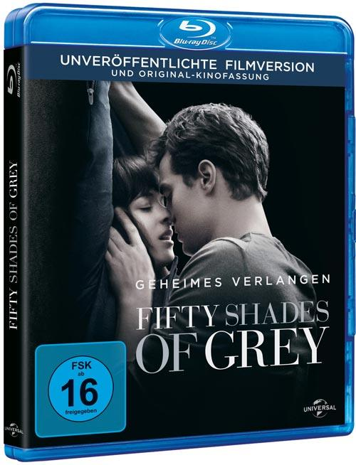 DVD Cover: Fifty Shades of Grey