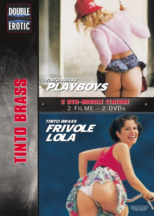 DVD Cover: Double Erotic - Tinto Brass: Playboys + Frivole Lola