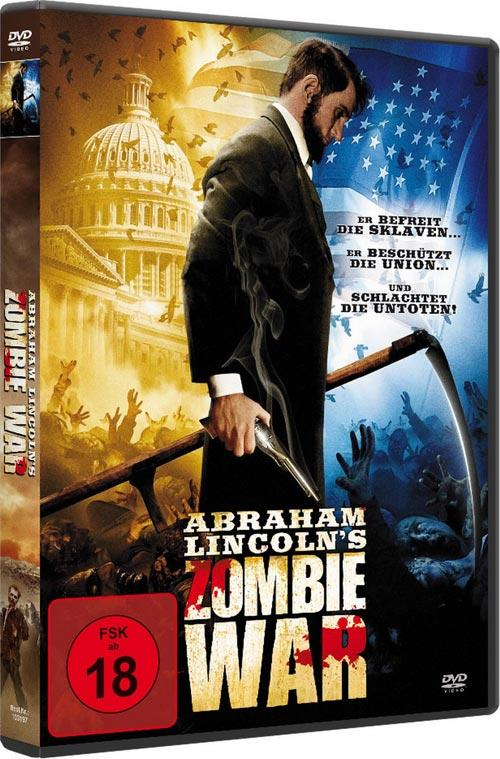 DVD Cover: Abraham Lincoln's Zombie War