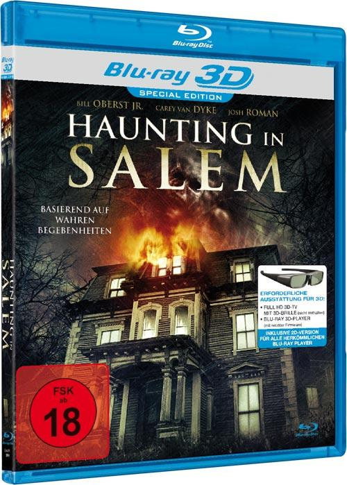 DVD Cover: Haunting in Salem - 3D