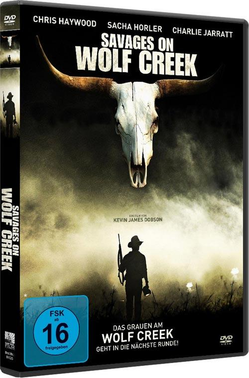 DVD Cover: Savages on Wolf Creek