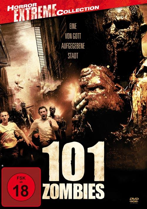DVD Cover: 101 Zombies - Horror Extreme Collection
