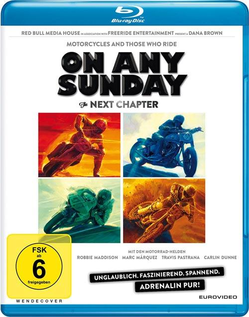 DVD Cover:  On Any Sunday - The next chapter