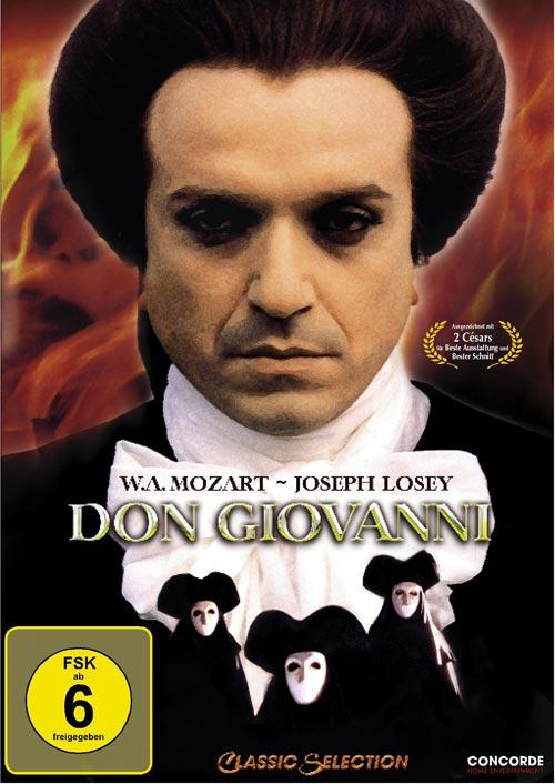 DVD Cover: Don Giovanni - Classic Selection - Neuauflage