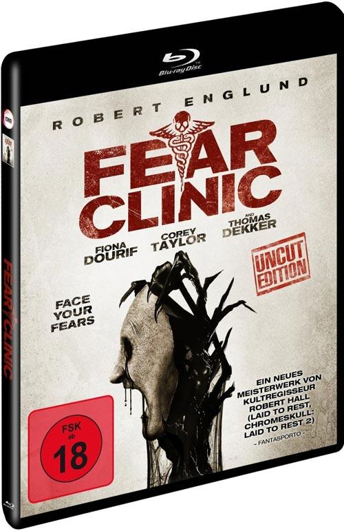 DVD Cover: Fear Clinic - uncut Edition