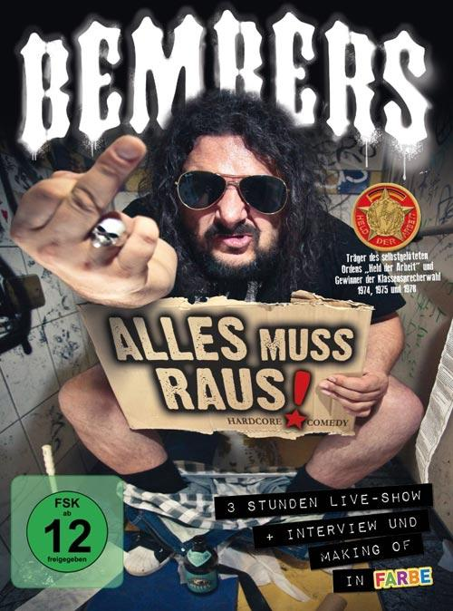 DVD Cover: Bembers - Alles Muss Raus! - Live