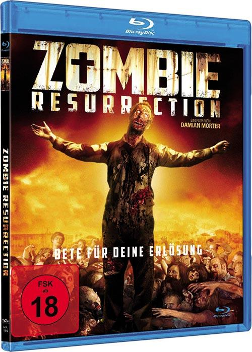 DVD Cover: Zombie Resurrection