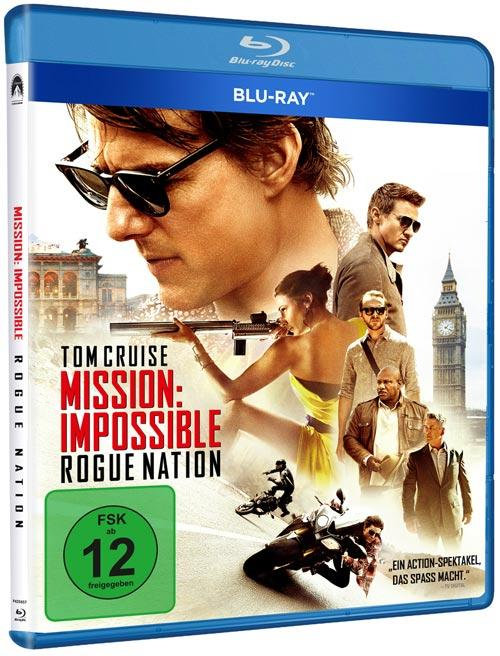 DVD Cover: Mission: Impossible - Rogue Nation