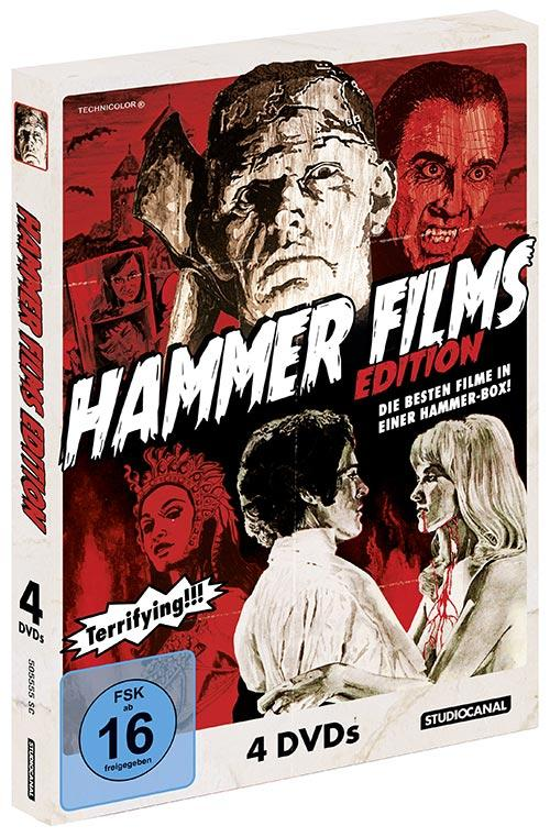 DVD Cover: Hammer Films Edition