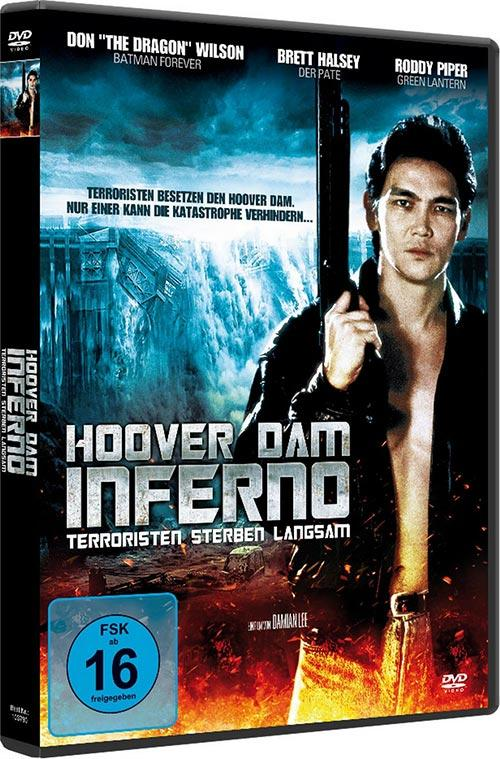 DVD Cover: Hoover Dam Inferno
