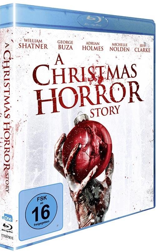 DVD Cover: A Christmas Horror Story