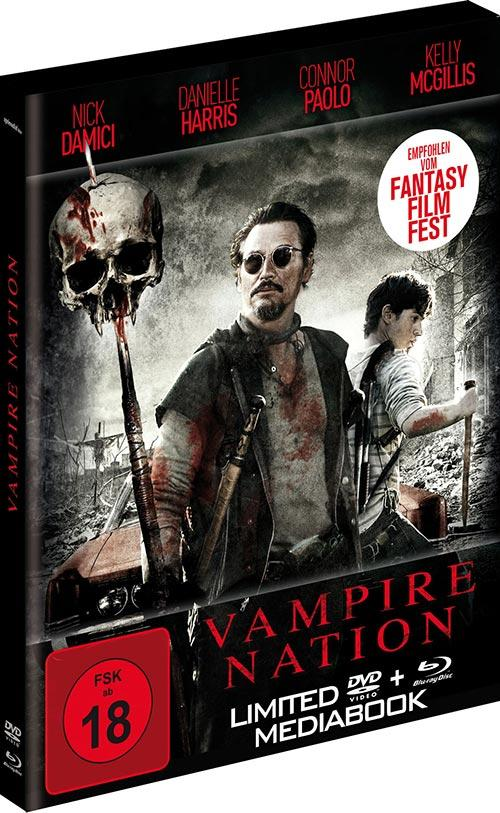 DVD Cover: Vampire Nation - Limited 2-Disc-Mediabook