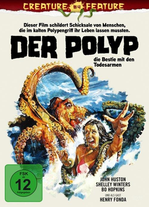 DVD Cover: Creature Feature Collection #4 - Der Polyp - Die Bestie mit den Todesarmen