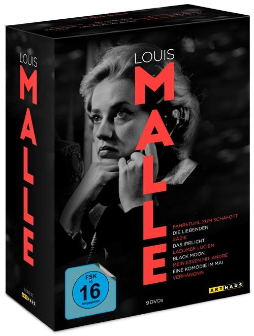 DVD Cover: Louis Malle Edition