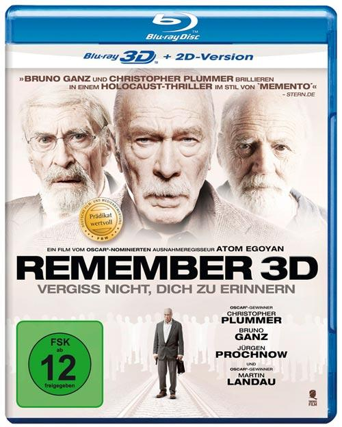 DVD Cover: Remember - 3D