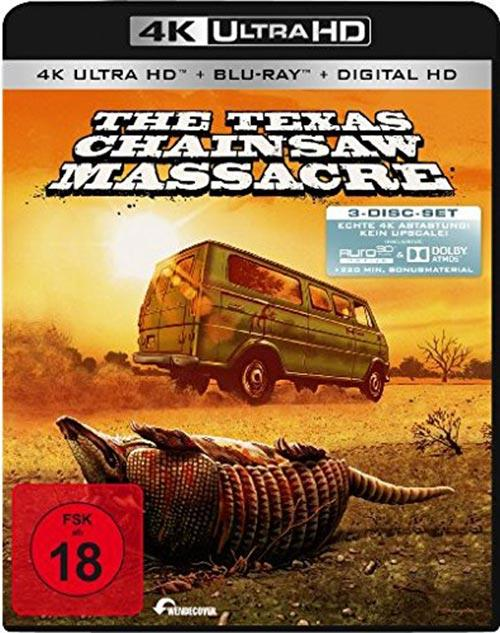 DVD Cover: The Texas Chainsaw Massacre - 4K