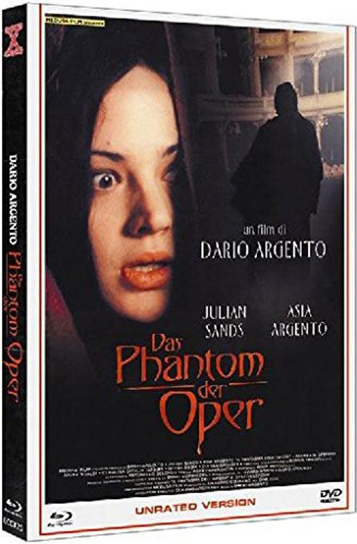DVD Cover: Das Phantom der Oper - unrated Version