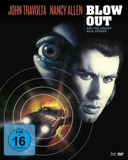 DVD Cover: Blow Out - Der Tod löscht alle Spuren - Mediabook