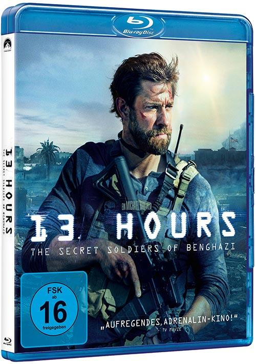 DVD Cover: 13 Hours - The Secret Soldiers of Benghazi