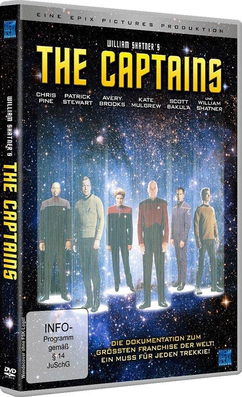DVD Cover: William Shatner's The Captains