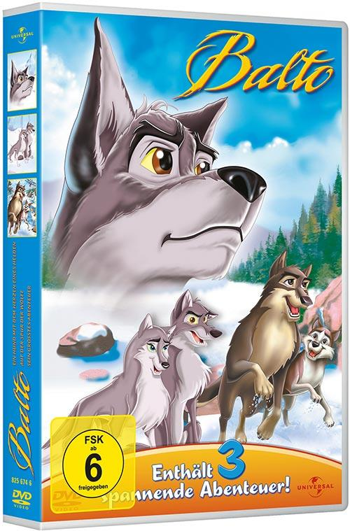 DVD Cover: Balto 1-3
