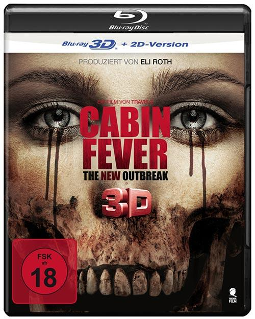 DVD Cover: Cabin Fever - The New Outbreak - 3D