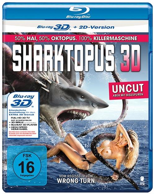 DVD Cover: Creature-Movies Collection: Sharktopus - 3D