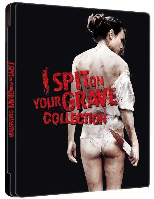 DVD Cover: I spit on your grave - Collection - Limited Futurepak Edition