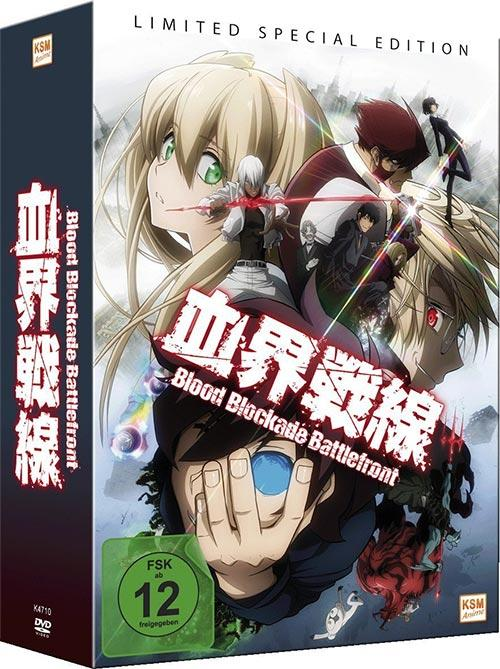 DVD Cover: Blood Blockade Battlefront - Limited Special Edition