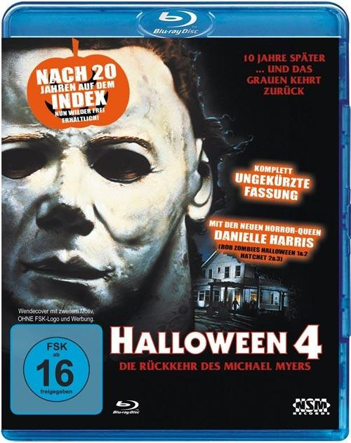 DVD Cover: Halloween 4 - The Return of Michael Myers