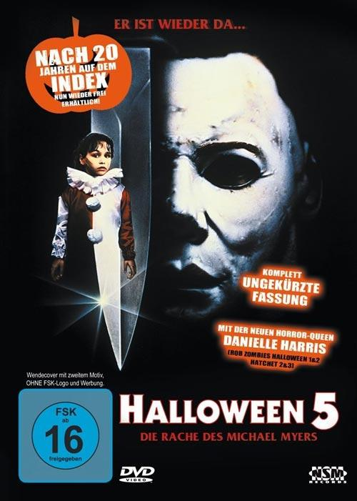 DVD Cover: Halloween 5 - Die Rache des Michael Myers