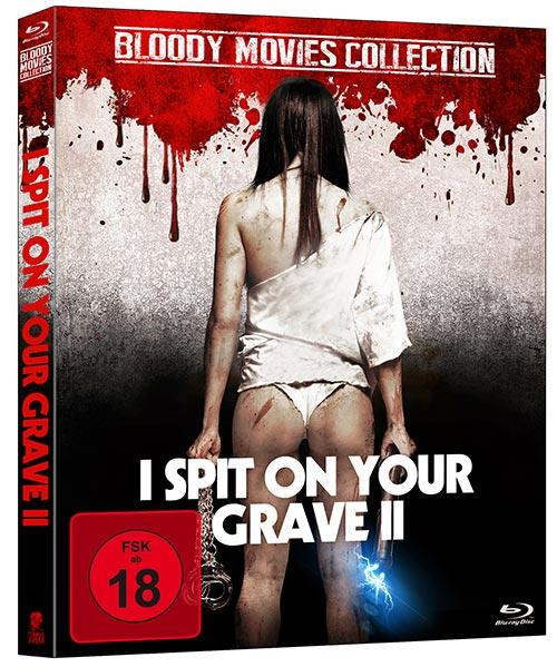 DVD Cover: Bloody-Movies Collection: I spit on your Grave 2