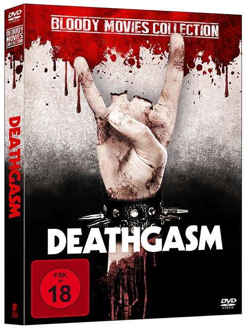 DVD Cover: Bloody-Movies Collection: Deathgasm - uncut