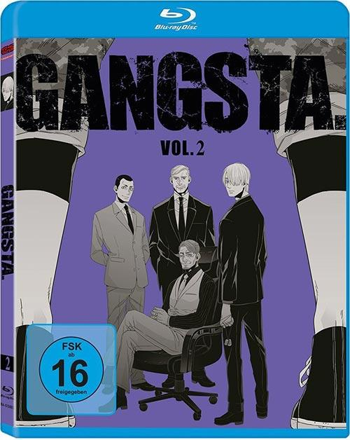 DVD Cover: Gangsta - Vol. 2