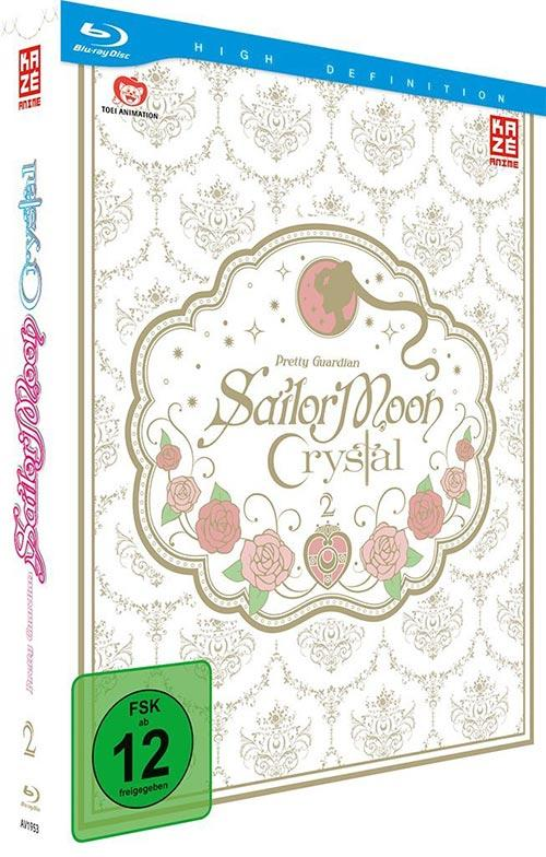 DVD Cover: Sailor Moon Crystal - Box 3
