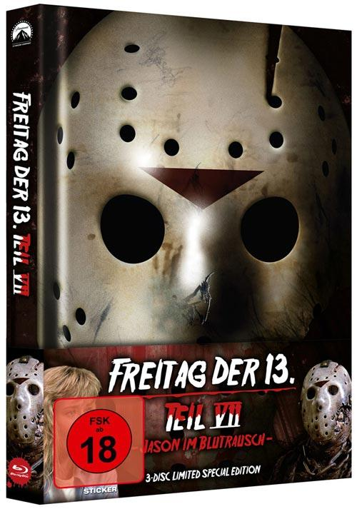DVD Cover: Freitag der 13. - Teil 7 - 3-Disc Limited Special Edition