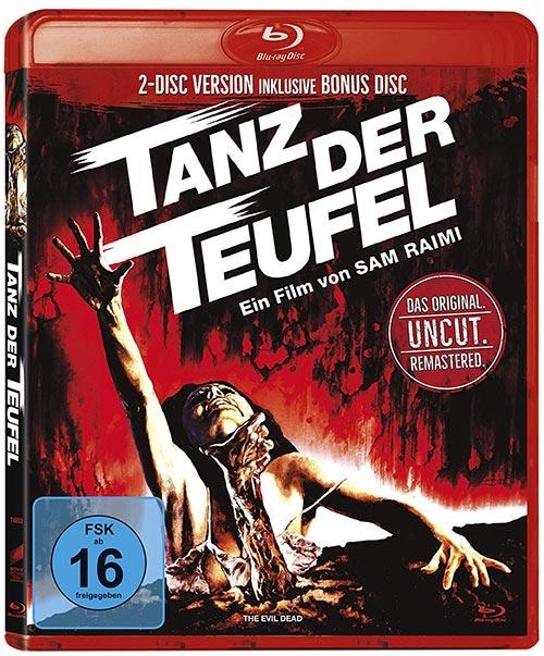 DVD Cover: Tanz der Teufel - uncut - Remastered Version