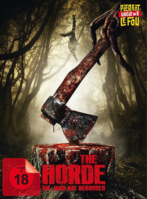 DVD Cover: The Horde - Die Jagd hat begonnen - Limited Edition Mediabook