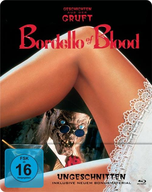 DVD Cover: Bordello of Blood - ungeschnitten - Steelbook
