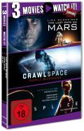 3 Movies - watch it: Last Days on Mars / Crawlspace / Splice